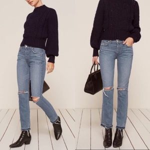 HOST PICK🧡REFORMATION | NWT WINONA MID RISE JEANS